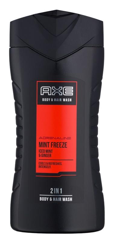 Axe Mint Freeze Douchegel voor Mannen 250 ml