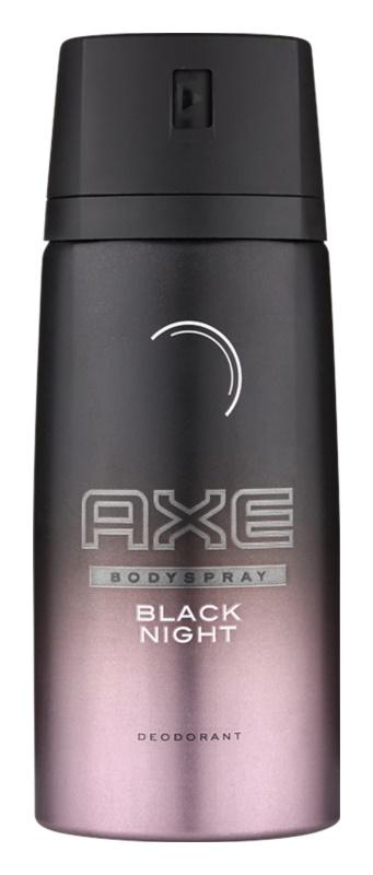 Axe Black Night deodorant spray para homens 150 ml