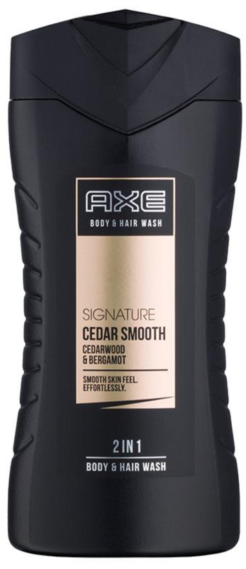 Axe Signature Cedar Smooth gel de dus pentru barbati 250 ml