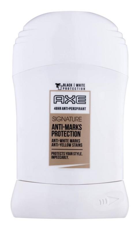 Axe Signature Anti-Marks Protection deostick pre mužov 50 ml