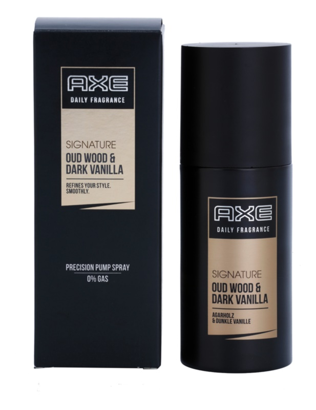 Axe Signature Oud Wood and Dark Vanilla Körperspray für Herren 100 ml