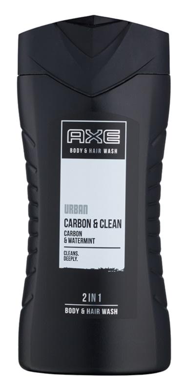Axe Urban Carbon & Clean Τζελ για ντους για άνδρες 250 μλ