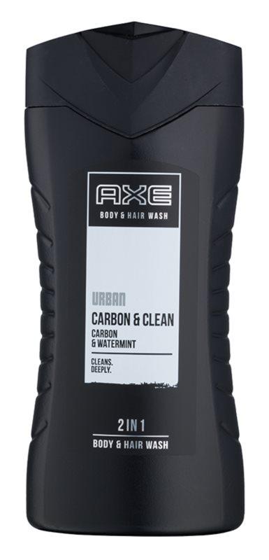 Axe Urban Carbon & Clean Douchegel voor Mannen 250 ml