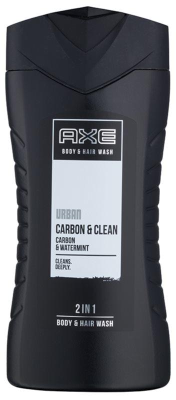 Axe Urban Carbon & Clean gel de duche para homens 250 ml