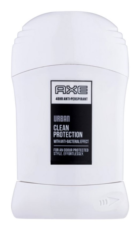 Axe Urban Clean Protection déodorant stick pour homme 50 ml