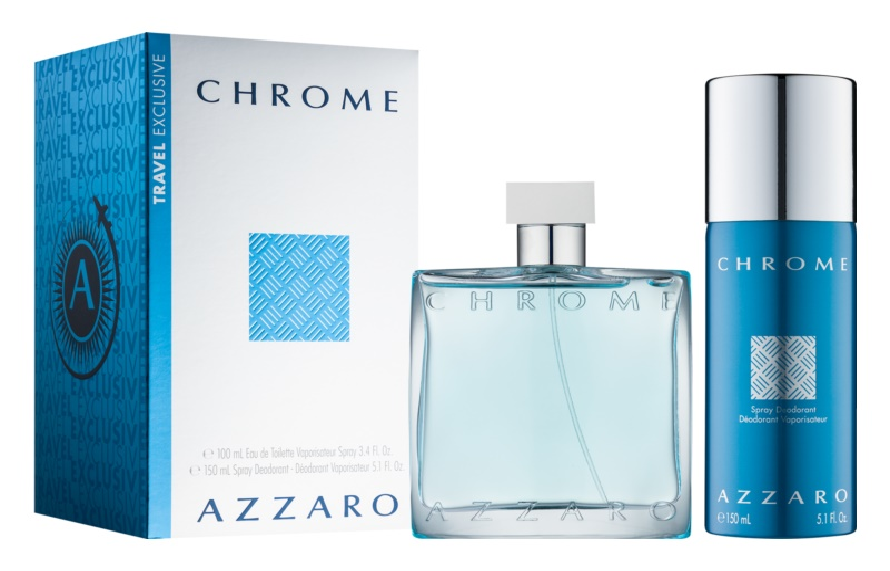 Azzaro Chrome darčeková sada IX.