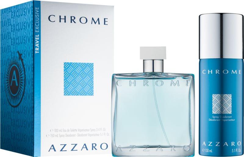 Azzaro Chrome zestaw upominkowy IX.
