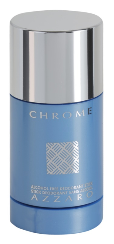 Azzaro Chrome Deodorant Stick voor Mannen 75 ml