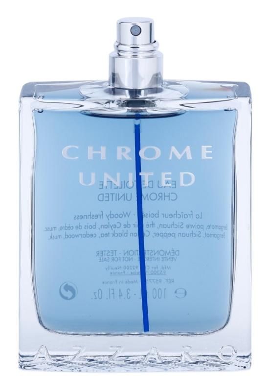 Azzaro Chrome United woda toaletowa tester dla mężczyzn 100 ml