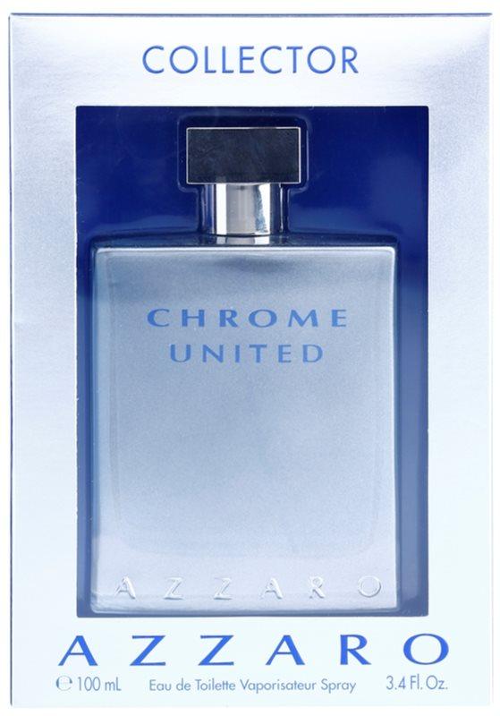 Azzaro Chrome United Collector Edition toaletna voda za moške 100 ml