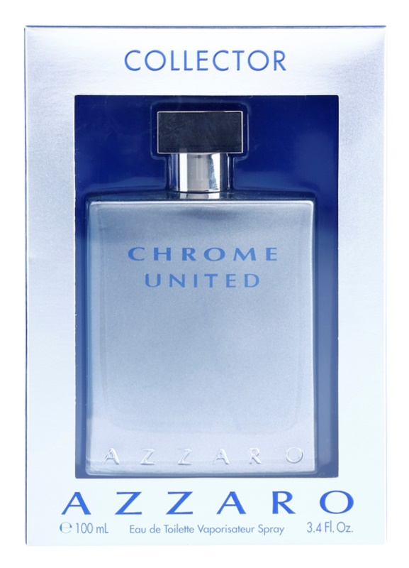 Azzaro Chrome United Collector Edition toaletní voda pro muže 100 ml