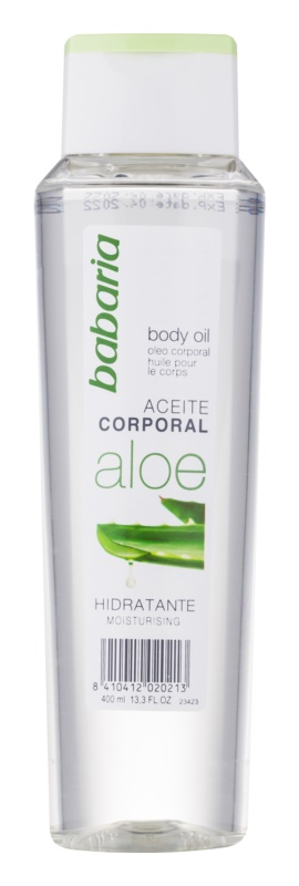 Babaria Aloe Vera Moisturizing Body Oil With Aloe Vera