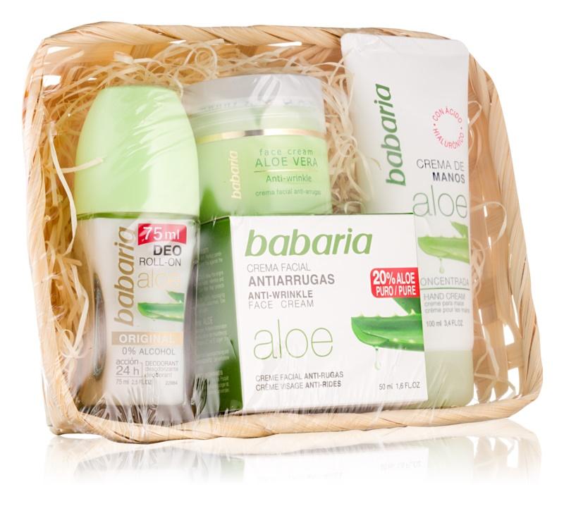 Babaria Aloe Vera Kosmetik-Set  V.