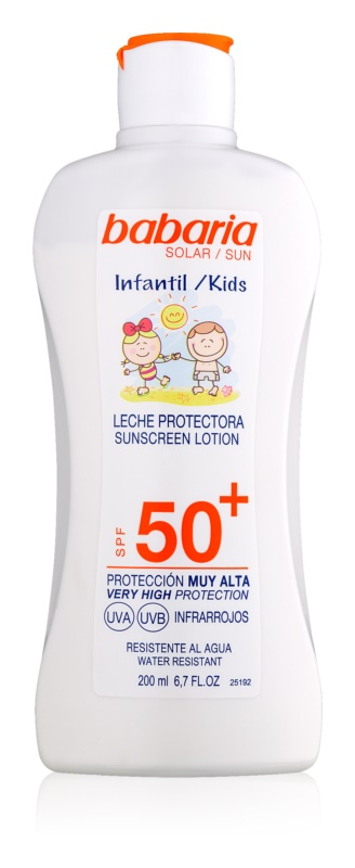 Babaria Sun Infantil παιδική αντηλιακή κρέμα  SPF 50+