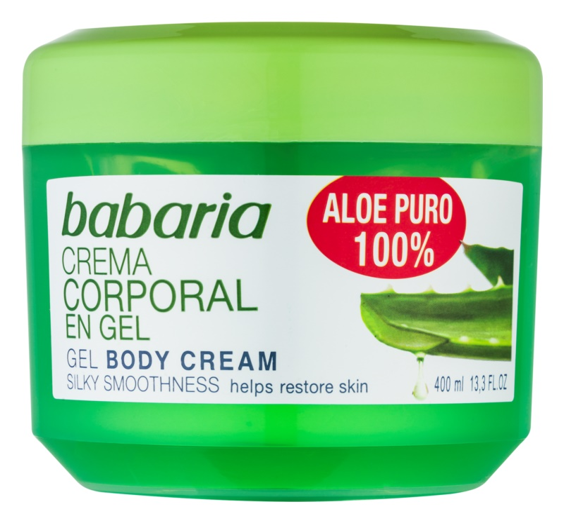 Babaria Aloe Vera hidratáló gél testre