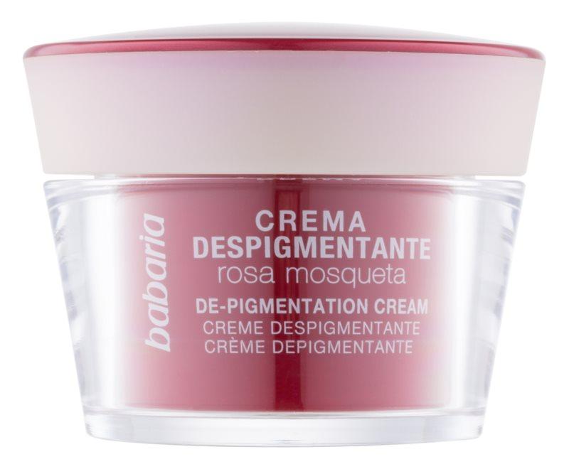 Babaria Rosa Mosqueta crema depigmentante