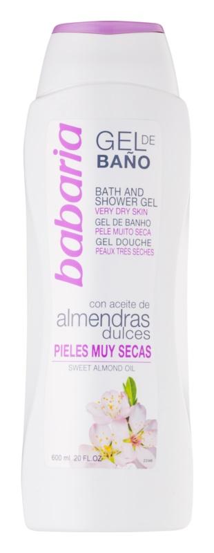 Babaria Almendras gel doccia