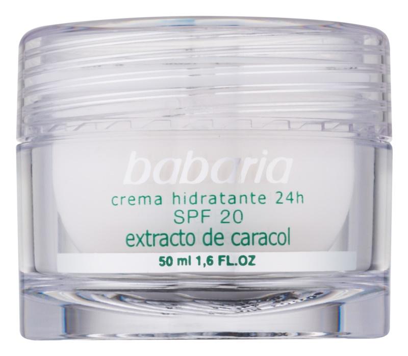 Babaria Extracto De Caracol hydratačný krém s extraktom zo slimáka