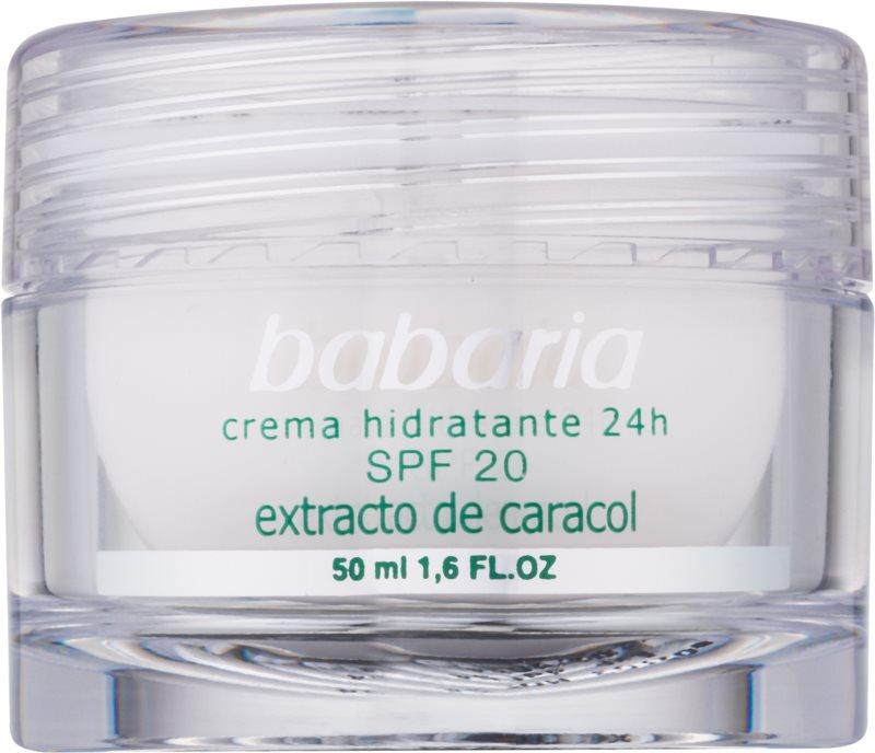 Babaria Extracto De Caracol зволожуючий крем з екстрактом равлика