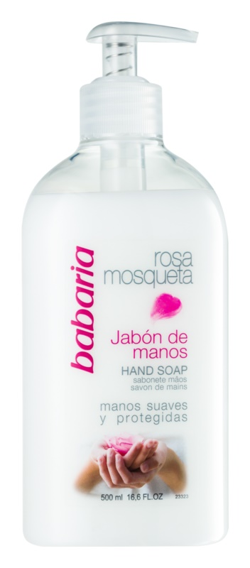 Babaria Rosa Mosqueta tekuté mydlo na ruky