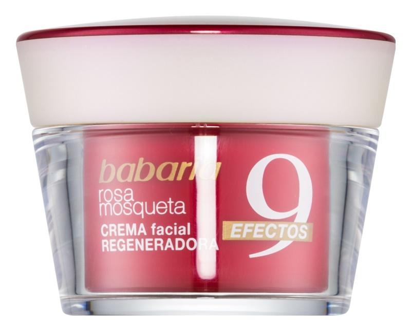 Babaria Rosa Mosqueta crème régénérante visage anti-rides