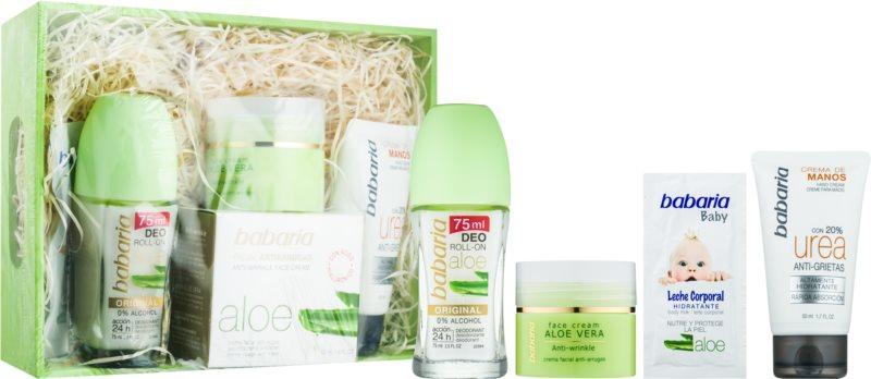 Babaria Aloe Vera coffret cosmétique IV.