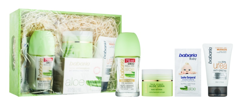 Babaria Aloe Vera Kosmetik-Set  IV.