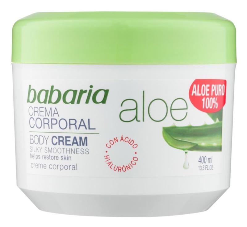 Babaria Aloe Vera tělový krém s aloe vera