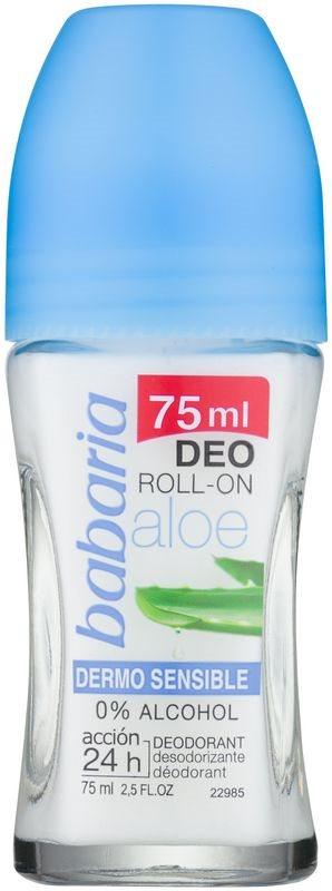Babaria Aloe Vera dezodorans roll-on s aloe verom