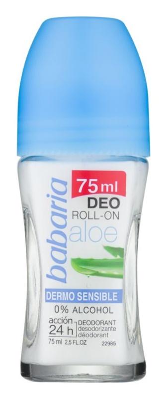 Babaria Aloe Vera roll-on dezodor Aloe Vera tartalommal