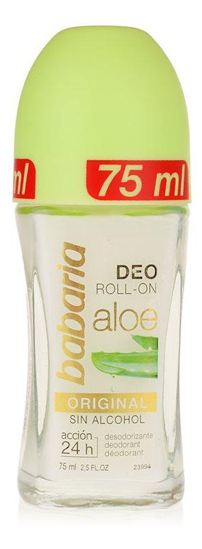 Babaria Aloe Vera dezodorant roll-on s aloe vera