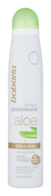 Babaria Aloe Vera dezodorant v spreji saloe vera