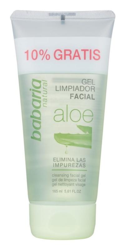 Babaria Aloe Vera gel nettoyant détoxifiant à l'aloe vera