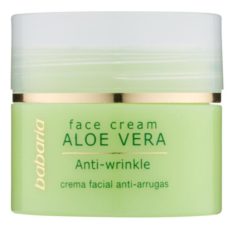 Babaria Aloe Vera crema viso con aloe vera