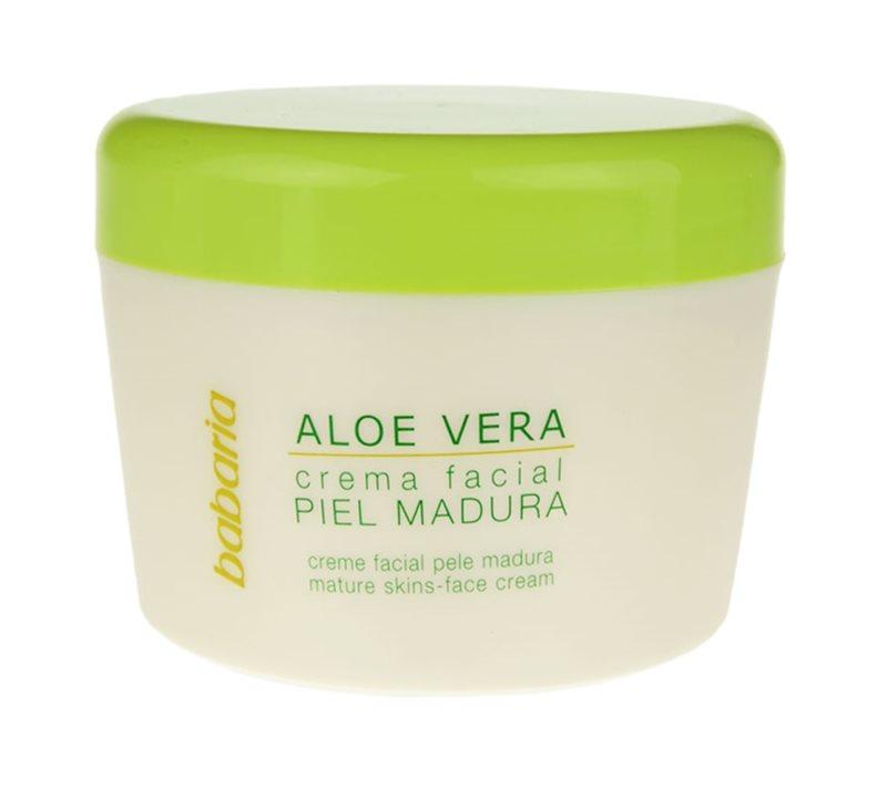 Babaria Aloe Vera crema pentru ten  pentru ten matur