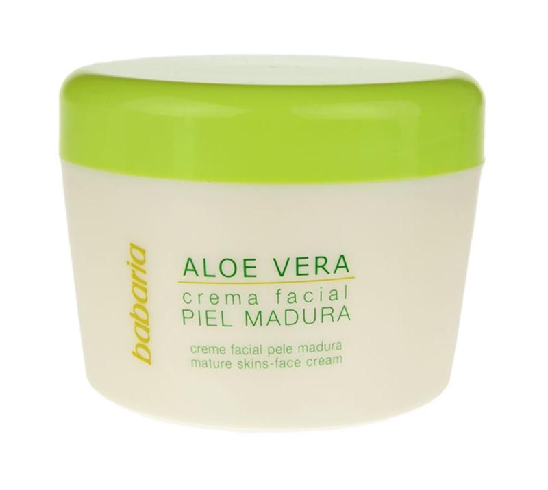 Babaria Aloe Vera crème visage pour peaux matures