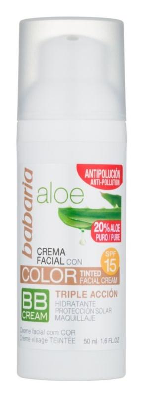 Babaria Aloe Vera BB cream con aloe vera