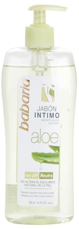 Babaria Aloe Vera gel za tuširanje za intimnu higijenu žena s aloe verom