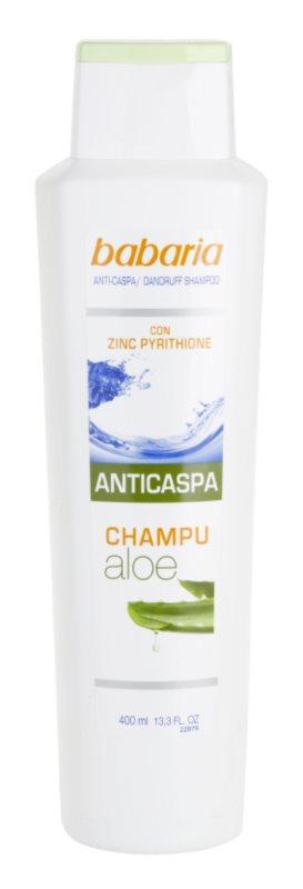 Babaria Anticaspa champô anticaspa com aloe vera