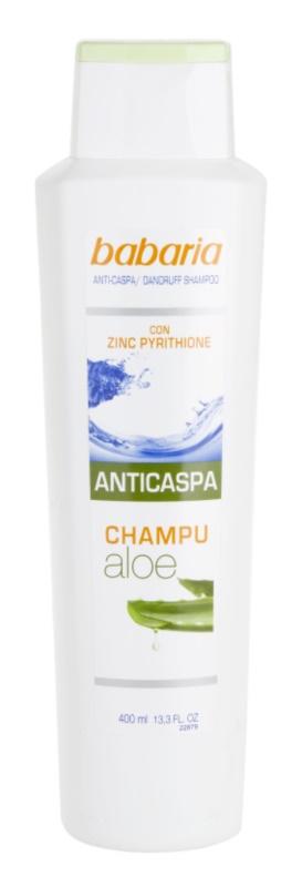 Babaria Anticaspa shampoing antipelliculaire à l'aloe vera