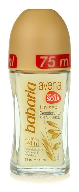 Babaria Avena deodorante roll-on