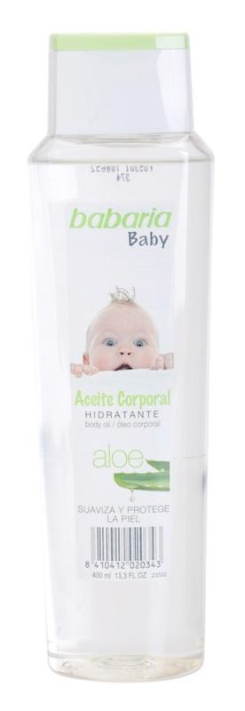 Babaria Baby óleo corporal hidratante para crianças
