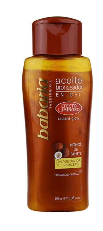 Babaria Sun Bronceadora Shimmering Oil for Deeper Tan
