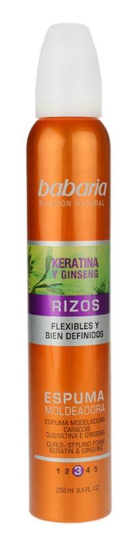 Babaria Ginseng pena za stling las za valovite lase