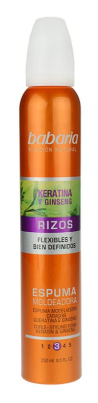 Babaria Ginseng Styling Schaum für welliges Haar