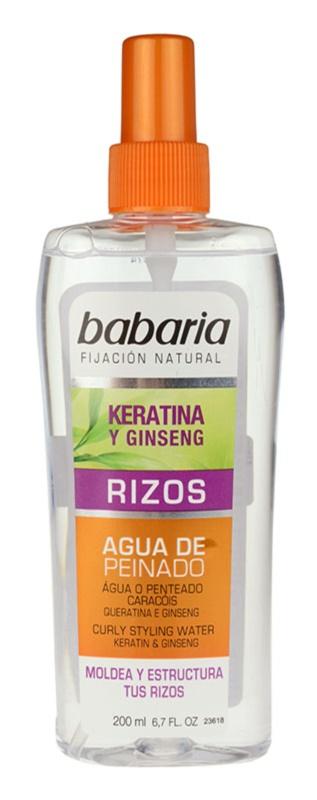 Babaria Ginseng stylingový sprej pro vlnité vlasy