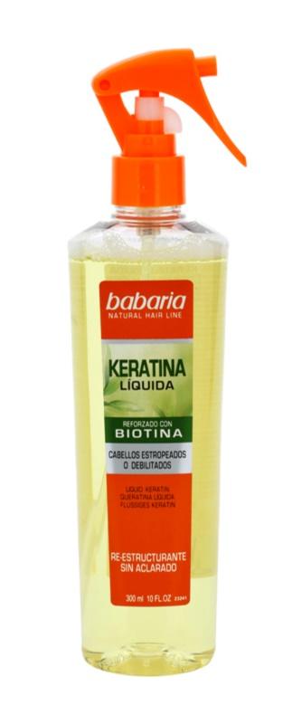 Babaria Liquid après-shampoing sans rinçage à la kératine