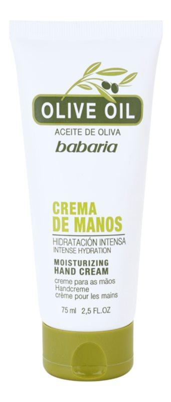 Babaria Olive crema per le mani con olio d'oliva