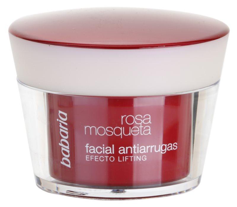 Babaria Rosa Mosqueta crema anti-rid cu efect lifting