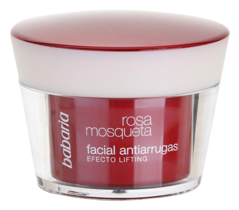 Babaria Rosa Mosqueta крем проти зморшок з ліфтинговим ефектом